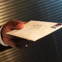 courrier au Colonel Philippe BERTHELOT