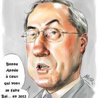 Les voeux de Claude Guéant