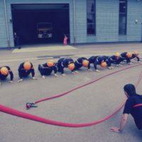 des tests sportif chez les sapeurs pompiers