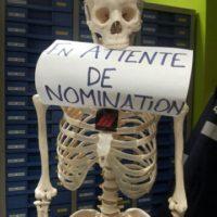 attendre sa nomination