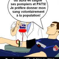 Don du sang au SDIS 44